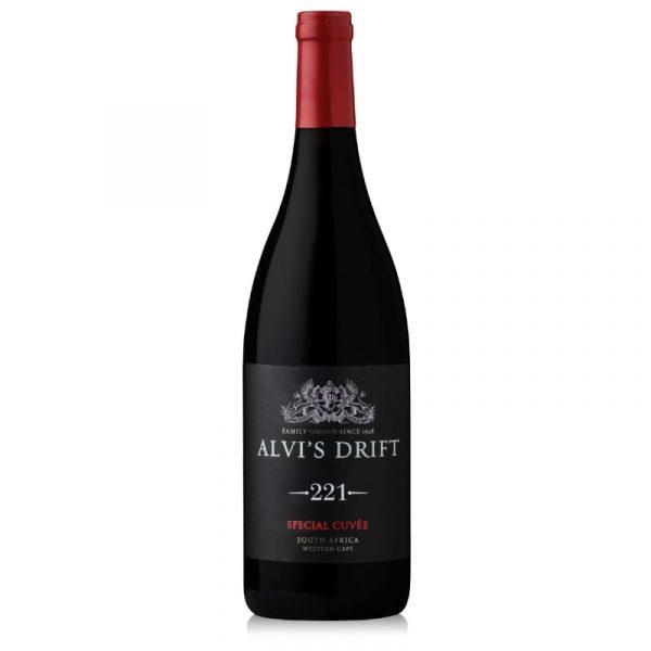 Weinflasche ALVI'S DRIFT 221 Range Special Cuvée