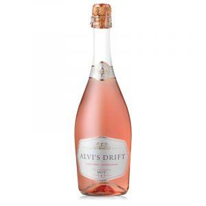 Weinflasche ALVI'S DRIFT Brut Rosé